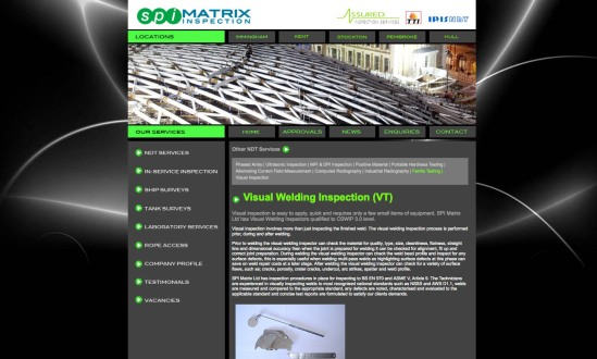Edge design SPI Matrix website
