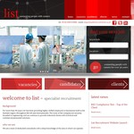 Edge design & build new recruitment website for List Recruitment.
