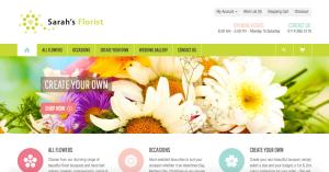 Sarah's Florist New Buy Online Website.
